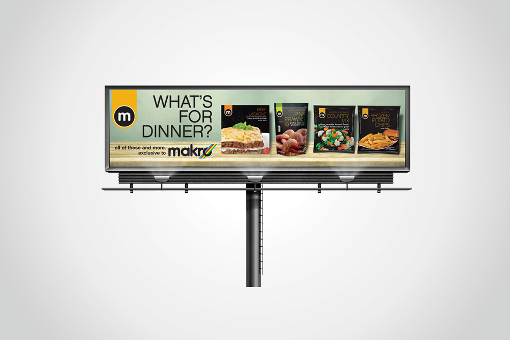 M Billboard – What's for dinner?