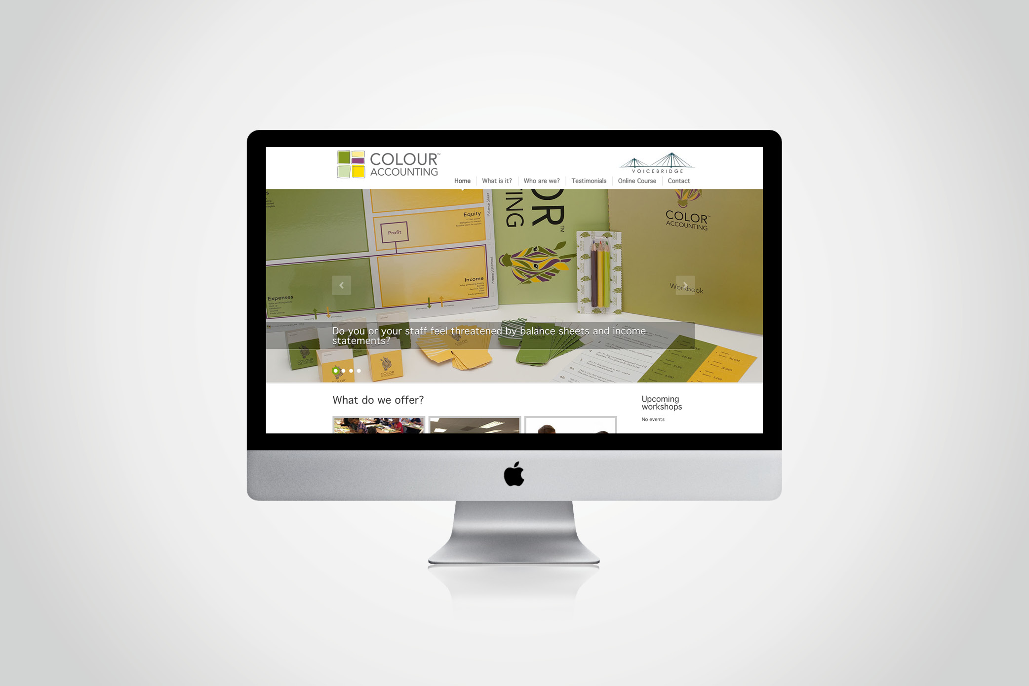 Colour Accounting website