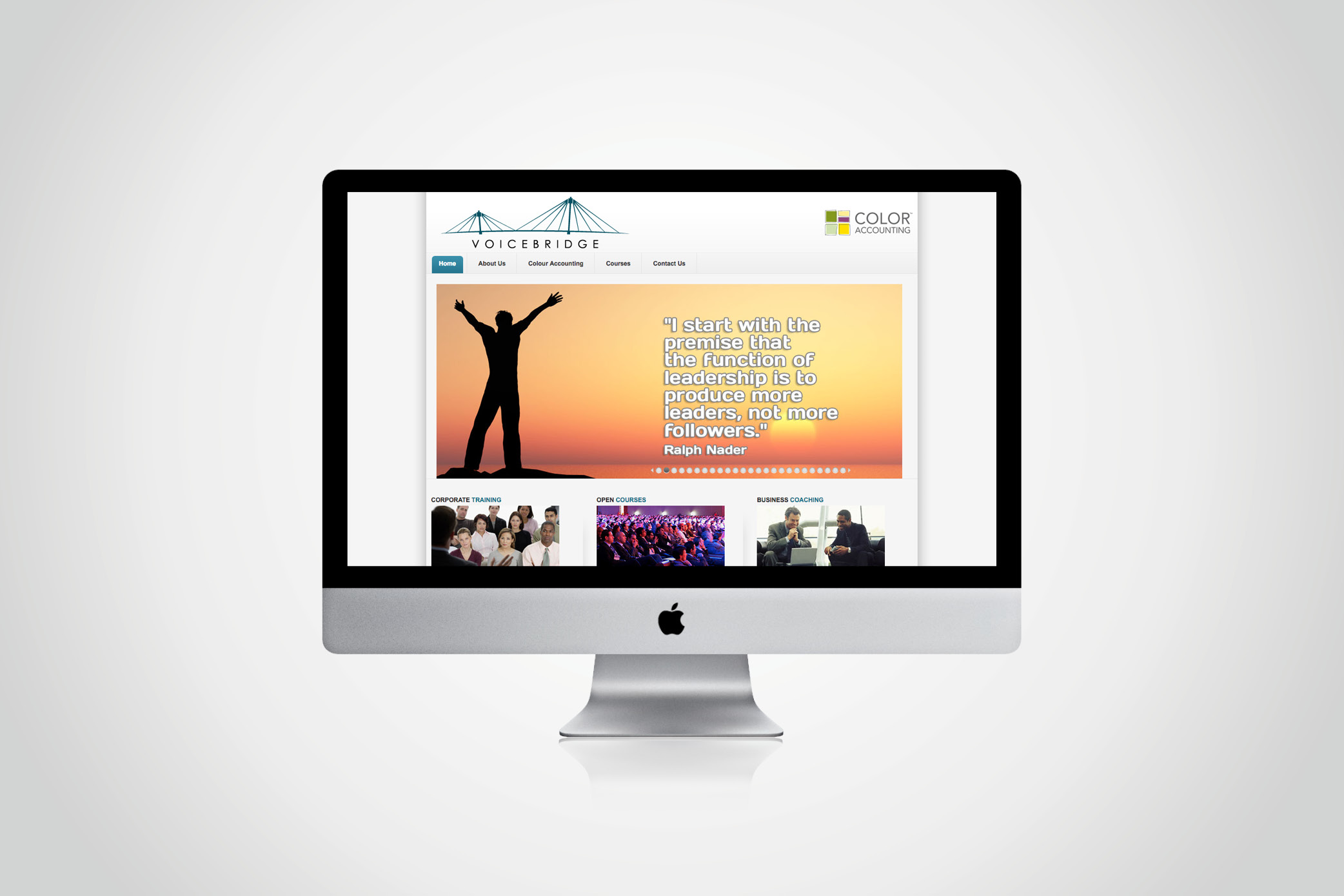 Voicebridge website