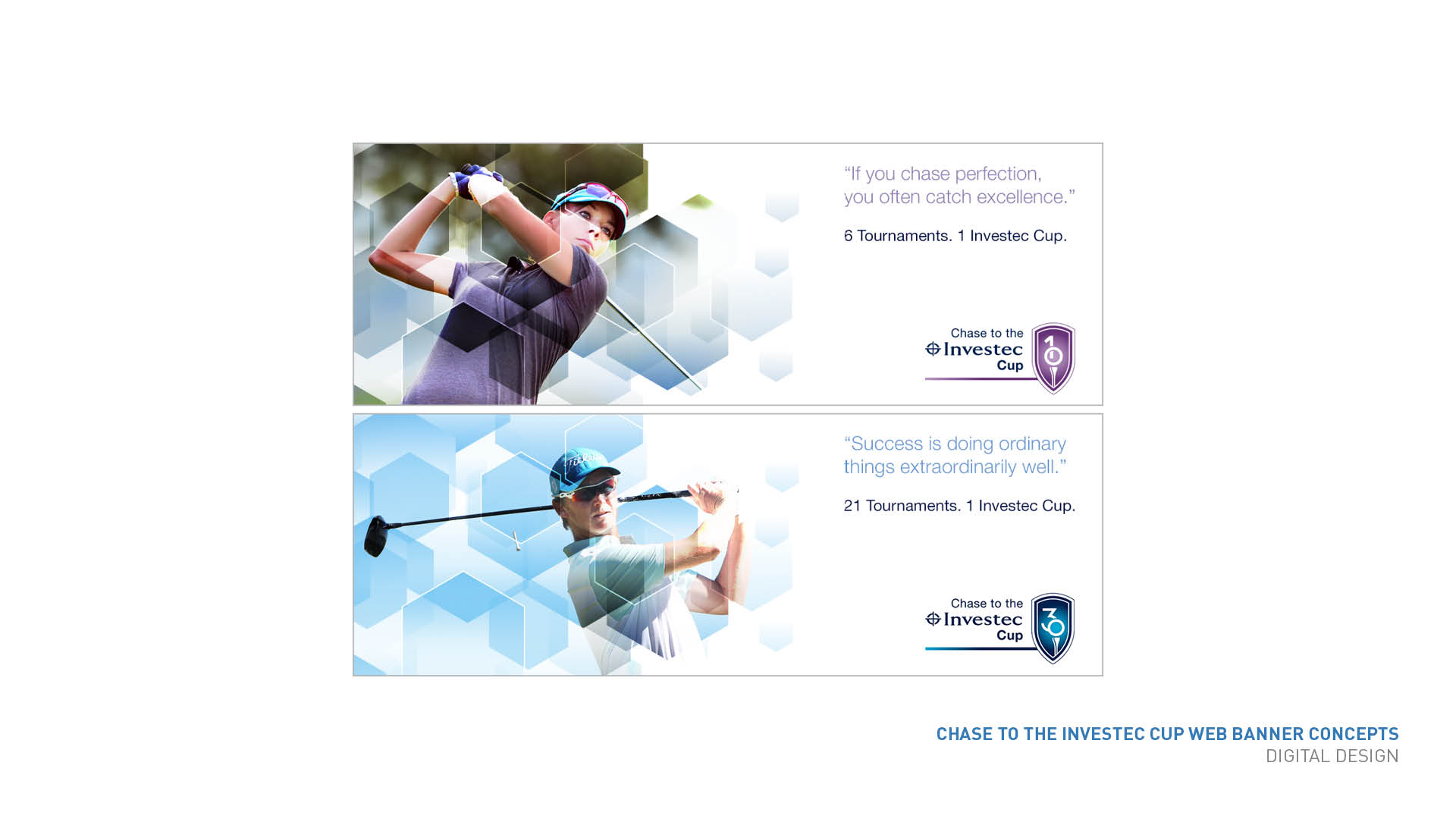 Investec Cup web banners
