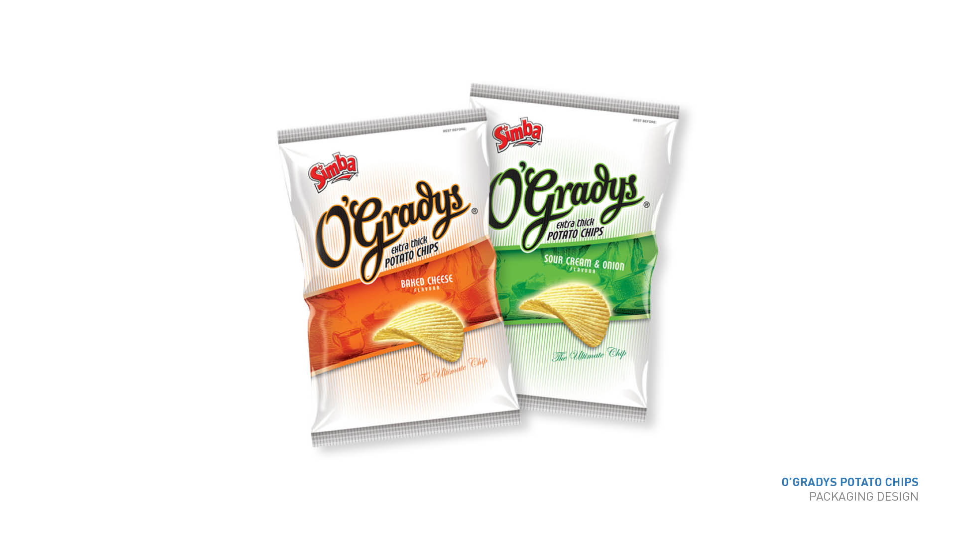 O'Gradys packaging
