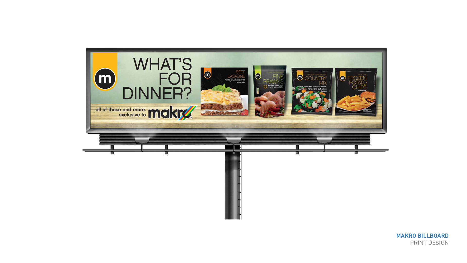 What's for dinner billboard